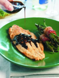 Balsamic Glazed Catfish